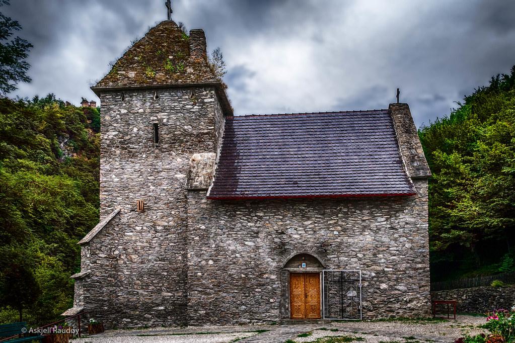 Excursie în Țara Hațegului Biserica Manastirii Colt
