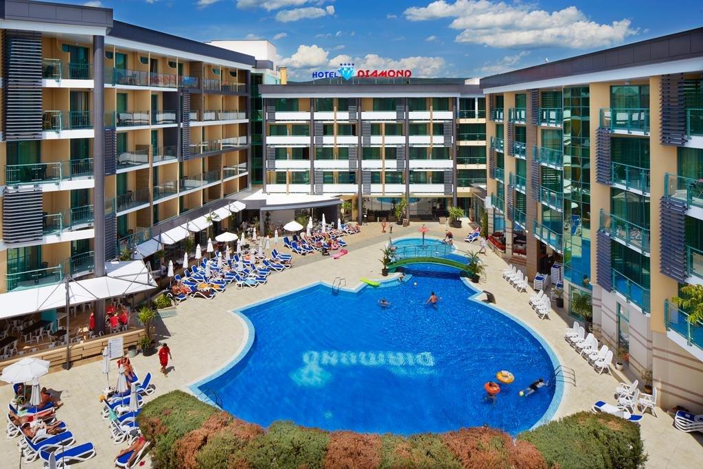 hotel diamond  Vacanțe ieftine All Inclusive în Bulgaria cu cazare 150 de euro în vara 2020